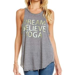 Chaser Dream Believe Yoga Tank Small